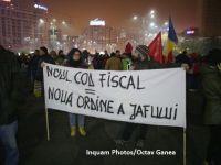15.000 de oameni au protestat în București față de legile justiției și modificarea Codului Fiscal. Manifestații și în alte orașe din țară