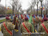Parada militară de 1 Decembrie 2017: 3.500 de militari români şi străini au defilat la Arcul de Triumf