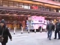 Explozie într-o stație de autobuz din New York. Mai multe persoane au fost rănite, un suspect a fost arestat
