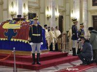 România în doliu național timp de trei zile, în memoria Regelui Mihai. Palatul Regal, deschis pentru public