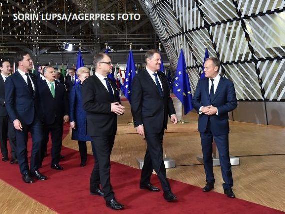 Iohannis: Prima fază a acordului privind Brexitul ne satisface, iar problema cetăţenilor români din Marea Britanie este bine rezolvată
