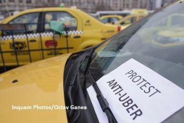Transportatorii au blocat Bucureștiul. Peste 5.000 de șoferi protestează în Piața Victoriei, față de pirateria din domeniu și concurența neloială din partea seviciilor de ride-sharing