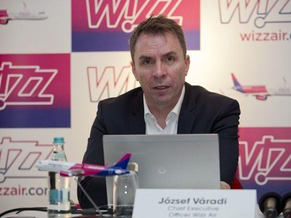 Wizz Air a transportat 6,8 mil. pasageri din România în 2017, în creștere cu 28% față de anul anterior. Operatorul anunță trei rute noi din București și a 10-a aeronavă pe Otopeni