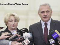 Întâlnire a coaliției de guvernare, la Palatul Victoria. Liviu Dragnea și Călin Popescu Tăriceanu discută cu premierul Dăncilă