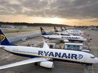 Europa, afectată de cea mai mare grevă din istoria Ryanair: 400 de zboruri anulate, 55.000 de pasageri afectați. Ce curse nu ajung la București