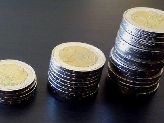Euro continuă să crească. BNR a afişat un curs de 4,6623 lei pentru un euro