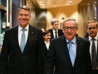 Juncker, după discuția cu Iohannis:  Amnistia și grațierea ar fi un pas înapoi