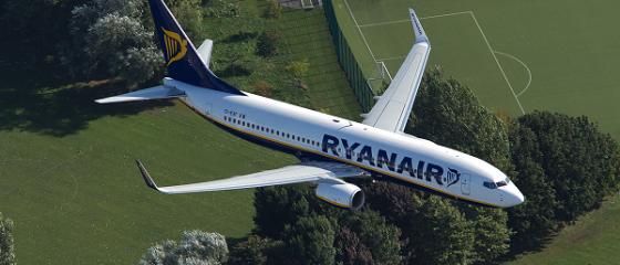 Promoție fulger de la Ryanair. Unde poți zbura cu 8 euro