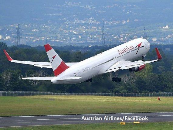 Austrian Airlines anulează o treime din zborurile programate joi, inclusiv către București. Piloții și persoalul de bord își renegociază salariile