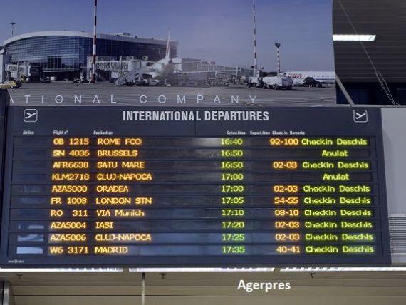 Traficul aerian a expodat anul trecut: numărul de pasageri a crescut cu peste 23%. Unde pleacă și de unde vin călătorii de pe aeroporturile românești