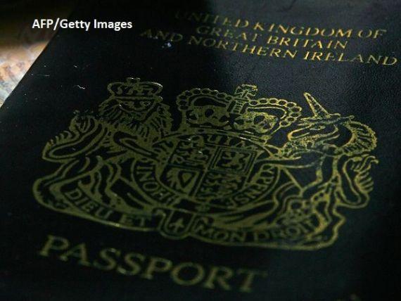 Cum vor arăta noile pașapoarte britanice, după Brexit. Vor fi tipărite în UE