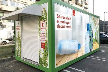Kaufland își dotează magazinele cu automate de reciclare a ambalajelor și oferă un cupon de reducere pentru cumpărături