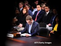 """Zuckerberg apără modelul economic al Facebook în faţa parlamentarilor americani, dar spune că nu se opune unei forme """"inevitabile"""" de reglementare a internetului"""