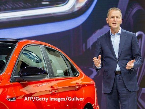 Herbert Diess, numit director general al Volkswagen, în locul lui Matthias Mueller. Grupul german trece prin cea mai mare restructurare din ultimii ani