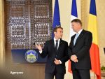 Macron îl laudă pe Iohannis:  În România, unii ameninţă independenţa magistraţilor, dar preşedintele ţine lucrurile sub control
