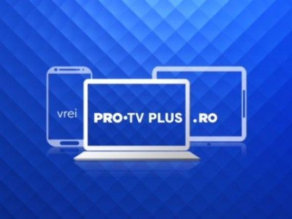 PRO TV lansează noua platformă PRO TV Plus! Emisiunile, serialele și Știrile PRO TV, disponibile online GRATUIT