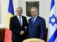 Dragnea anunță că România își va muta ambasada din Israel la Iesusalim. Reacția virulentă a președintelui Iohannis