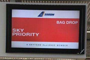 Tarom își mută toate ghișeele de pe Aeroportul Heni Coandă în noul terminal