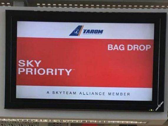 Tarom își mută toate ghișeele de pe Aeroportul Henri Coandă în noul terminal