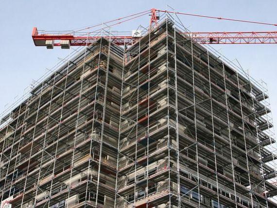 România, locul trei în UE la scăderea construcțiilor