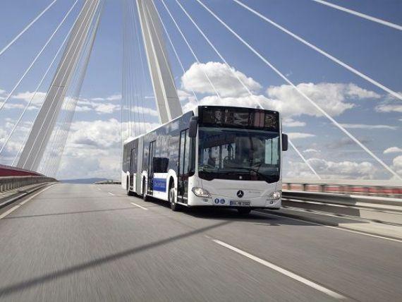 Comandă record pentru Mercedes. Orașul care a comandat 950 de autobuze Citaro, model care circulă și pe străzile din București