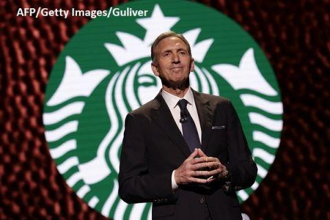 Omul care a crescut imperiul Starbucks de la 11 cafenele la peste 28.000, în 77 de ţări, părăseşte compania după 36 de ani și nu exclude o candidatură la preşedinţia SUA