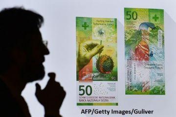 După aur, a venit rândul francului să se scumpească. Moneda elvețiană, la cel mai ridicat nivel din ianuarie 2015, pe piața din România