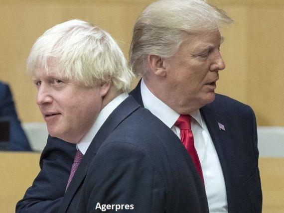 Ministrul de externe britanic avertizează asupra unui  colaps  al discuțiilor pentru Brexit și susține că Donald Trump ar conduce mai bine negocierile:  Există o metodă în nebunia lui