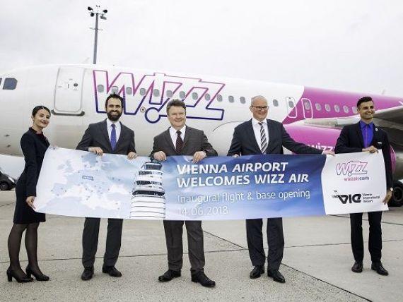 Wizz Air a deschis baza din Viena și oferă reduceri de 20% la bilete