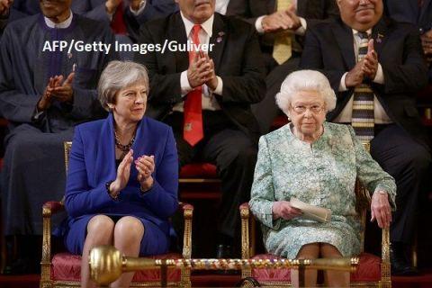 Moment istoric la Londra. Regina Elisabeta a II-a a promulgat legea privind retragerea Marii Britanii din Uniunea Europeană