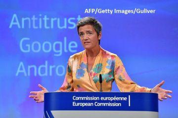 Amendă record de 4,34 mld. euro pentru Google în UE, pentru practici ilegale în cazul utilizatorilor Android. Compania va contesta decizia CE
