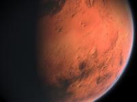 Un lac cu apă în stare lichidă a fost identificat pe Marte