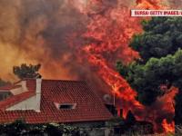 Incendii în Grecia: bilanțul a ajuns la 91 de morţi. Zeci de oameni sunt încă de negăsit
