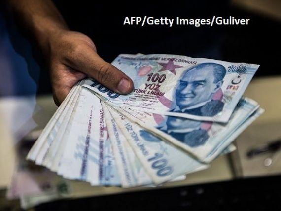 Turcia, în pragul colapsului economic. Guvernul scoate bani din rezerva băncii centrale, pentru a acoperi deficitul