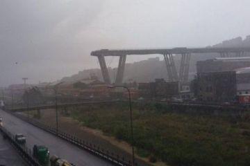 39 de morţi, printre care şi 2 români, după prăbuşirea viaductului din Italia. Căutările continuă printre ruine