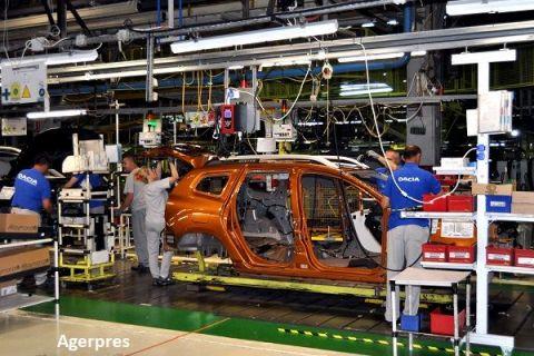 Producţia Uzinei Dacia de la Mioveni a crescut cu peste 27% față de anul trecut. Duster conduce detașat clasamentul mașinilor construite la Pitești