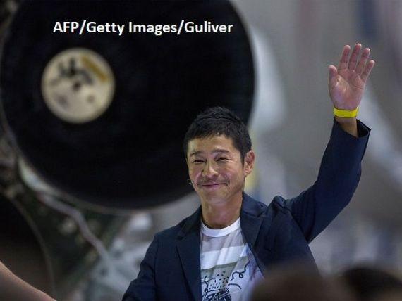 Primul turist spațial, un miliardar japonez pasionat de Picasso și Warhol. Costul călătoriei în jurul Lunii, estimat la 5 mld. dolari