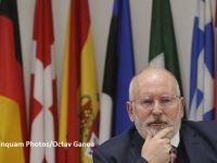 Reacția Comisiei Europene la plângerea penală înregistrată pe numele lui Timmermans și Jourova