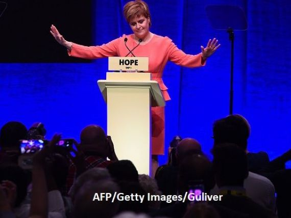 Singura soluție pentru Scoția este independența. Premierul Nicola Sturgeon dă ca sigură ruperea țării de Regat, după Brexit