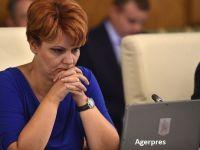 Viorica Dăncilă îi propune din nou pe Olguța Vasilescu și pe Mircea Drăghici în Guvern