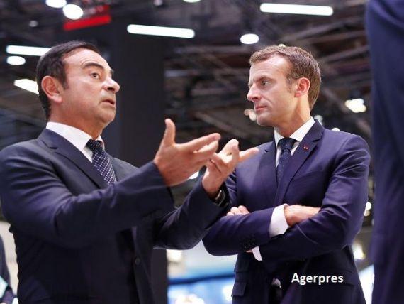 Statul francez cere Renault să-l înlocuiască pe Carlos Ghosn, acuzat de nereguli financiare în Japonia