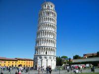 Turnul din Pisa este mai puțin înclinat față de anii anteriori