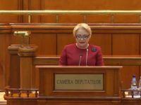 Dăncilă prezintă în Parlament programul Preşedinţiei României la Consiliul UE.  Nu mai este loc de orgolii
