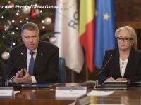 """Iohannis, umăr la umăr cu Dăncilă la ședința de Guvern: """"Participarea mea are loc în virtutea atribuţiilor conferite de Constituţia României"""""""