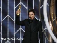 Christian Bale, discurs bizar la Globurile de Aur 2019:  Mulțumesc, Satana!
