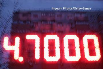 Euro depășește pragul de 4,7 lei, un nou record în raport cu leul. Cum explică BNR deprecierea monedei naționale