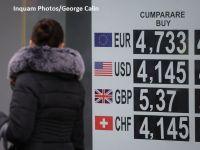 Euro se apropie de 4,76 lei