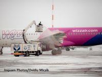 Aeronavele pleacă cu întârzieri de până la 50 de minute de pe aeroporturile din București, din cauza degivrării