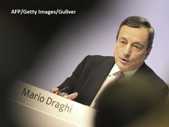 Îngrijorări la BCE: Escaladarea războiului comercial și Brexitul subminează încrederea.  Datele pe care le avem sunt mai slabe decât ne aşteptam