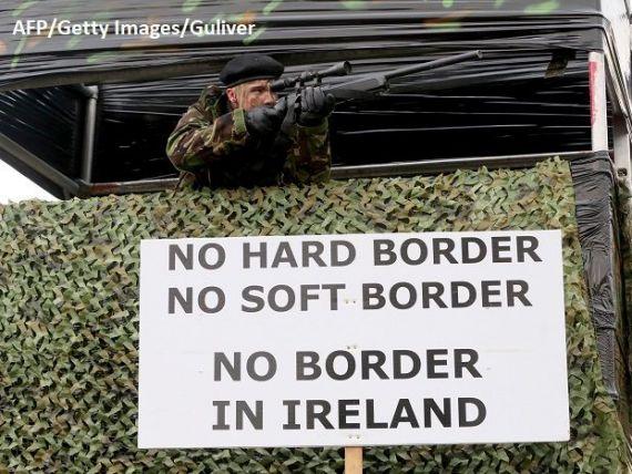 O bombă artizanală a explodat la frontiera irlandeză. Atacul prezintă  modul de operare tipic al grupărilor disidente republicane
